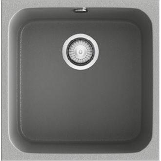Fregadero de 1 cuba Metalizado 44 x 44,5cm Gandia Poalgi