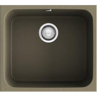 Fregadero de 1 cuba Albero 54 x 44,50cm Gandia Poalgi