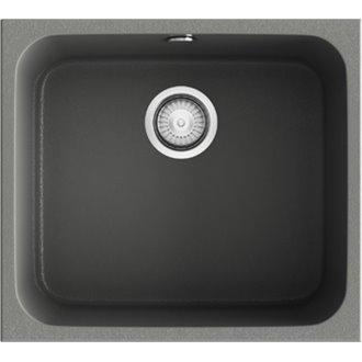 Fregadero de 1 cuba Concret 54 x 44,50cm Gandia Poalgi