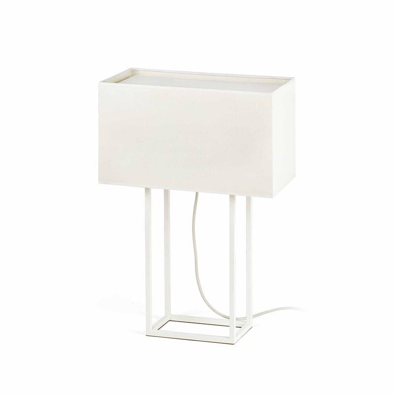 Lámpara sobremesa blanco VESPER 20W Faro