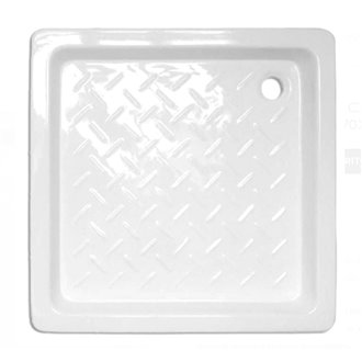 Plato de ducha cerámico Cuadrado 70x70 Tegler