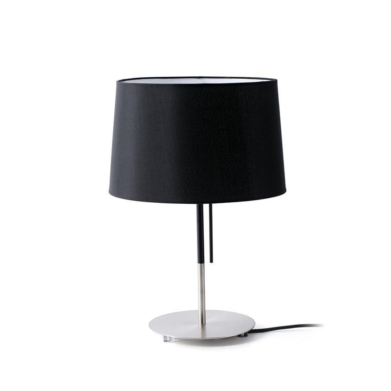 Lámpara sobremesa negra VOLTA 20W Faro