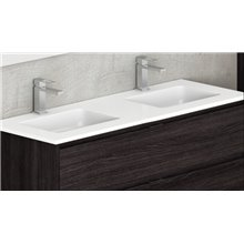 Lavabo doble encimera Surface 46 Tegler