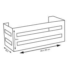 Portagel rectangular 20/30 Tegler