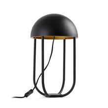 Lámpara sobremesa negro y oro JELLYFISH LED 6W