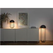 Lámpara sobremesa negro y oro JELLYFISH LED 6W Faro