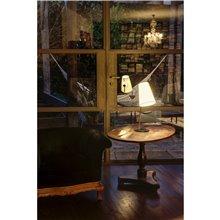 Lámpara sobremesa cromo LUPE 15W