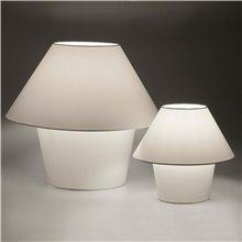 Lámpara sobremesa blanca VERSUS-G 60W