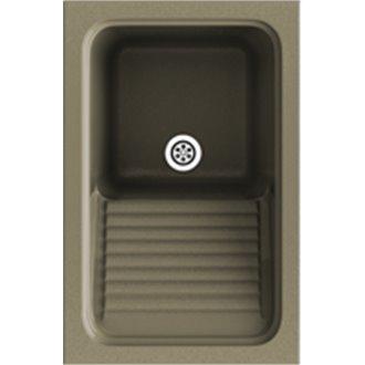 Fregadero de 1 cuba Albero 44 x 60 cm Silex Basic Poalgi