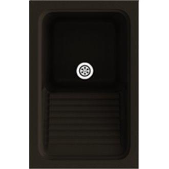 Fregadero de 1 cuba Brown 40 x 60 cm Silex Basic Poalgi