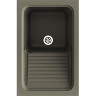 Fregadero de 1 cuba Tundra 40 x 60 cm Silex Basic Poalgi