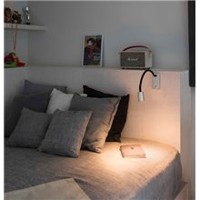 Aplique lector LESER LED níquel satinado