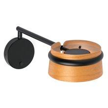 Aplique LOOP LED negro con brazo articulado Faro
