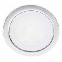 Lámpara empotrable LED-MINI blanca o cromo Ø6,5cm Faro