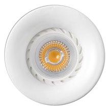 Lámpara empotrable NEÓN-R blanca y redonda Ø7,8cm Faro
