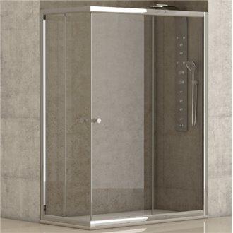 Mampara de ducha angular Catania de Futurbaño