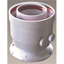 Accesorios calderas de condensación conexión tubo coaxial con toma de muestras 80/125 FERROLI