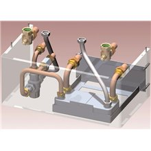 Accesorio hidráulico Kit solar intercambiador de placas Bluehelix Tech RRT+ Pro Slim FERROLI