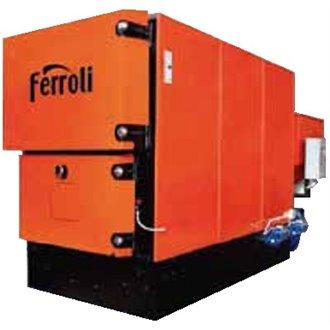 Caldera industrial de biomasa de agua ARES 130 FERROLI