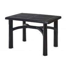Mesa rectangular gris oscuro TANGO de resol