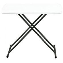 Mesa pegable blanca EASY 75 de Resol