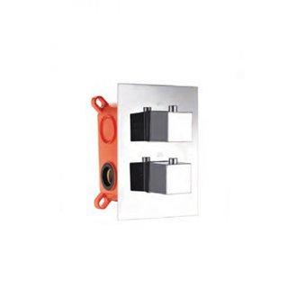 Grifo termostático empotrado de 3 vías Imex