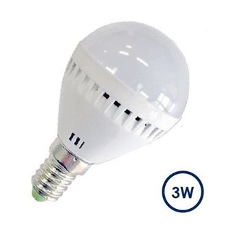Bombilla LED de 3W E14 240 lúmenes