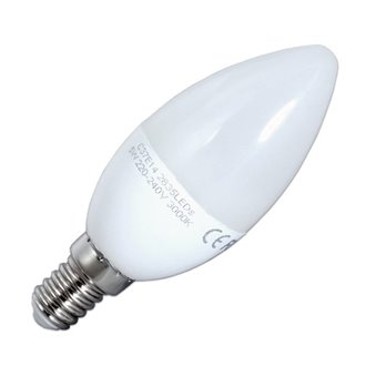 Bombilla LED vela de 5W E14