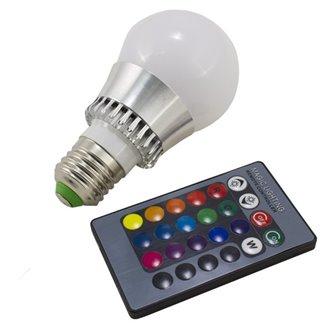 Bombilla LED con luz RGB de 5W E27