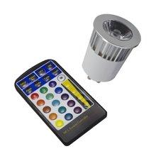 Bombilla Dicroica RGB GU10 5W