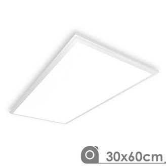 Panel LED 30x60 rectangular 25W