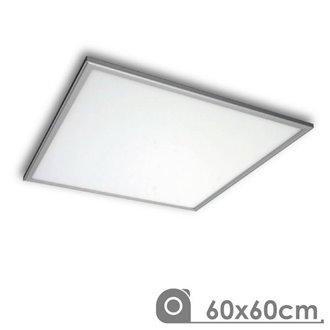 Panel LED 60x60 cuadrado 50W PLATA