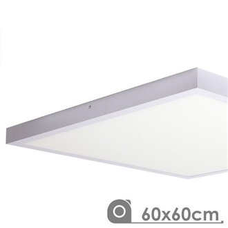 Panel LED 60x60 cuadrado 48W de superfice