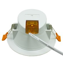 Foco LED Downlight 7W GRAN ANGULAR blanco