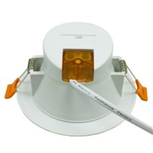 Foco LED Downlight 12W GRAN ANGULAR blanco