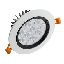 Foco LED circular direccionable 12W blanco