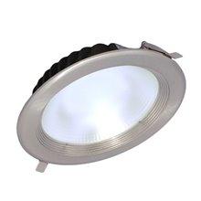 Proyector de techo LED redondo 30W PLATA