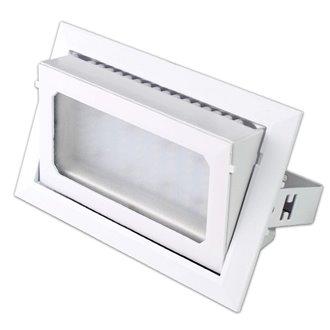 Proyector de techo LED cuadrado 30W BLANCO