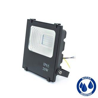 Proyector LED cuadrado 20W PLANO