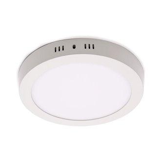 Plafón LED redondo Ø22x4cm 18W blanco