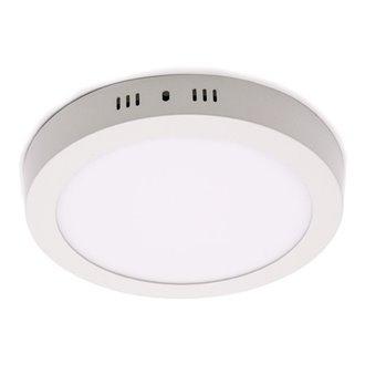 Plafón LED redondo Ø30x4cm 24W blanco