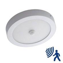Plafón LED detector de presencia 18W blanco