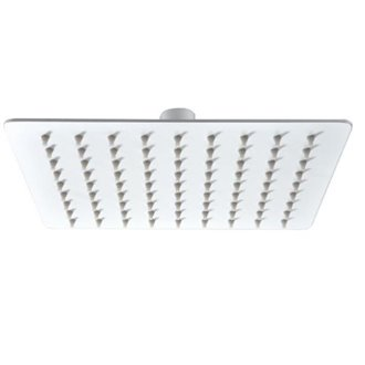 Rociador para ducha blanco Imex 20x20