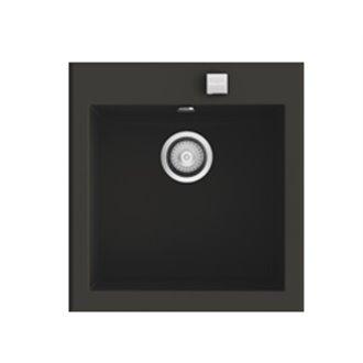Fregadero de 1 cuba Brown 46,8 x 52cm Shira Poalgi