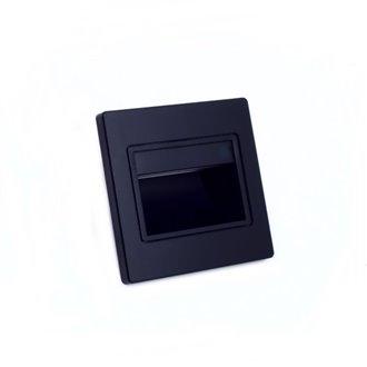 Baliza LED 1,5W negra