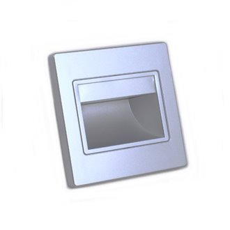 Baliza LED 1,5W plata