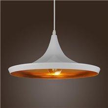 Lámpara colgante OSLO blanca E27