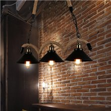 Lámpara colgante CORDA4 E27