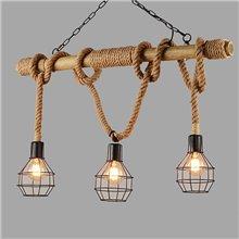 Lámpara colgante CORDA5 E27