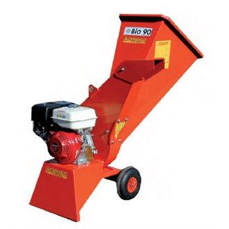 Trituradora de ramas BIO90 motor eléctrico Motogarden